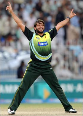 Afridi always excited!