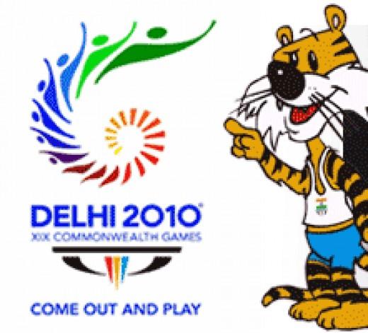 "XIXth Commonwealth Games Logo and Mascot ""Shera"""