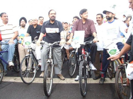 Sustainable transportation rally
