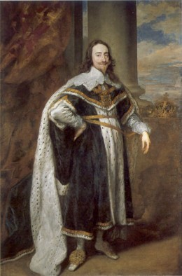 King Charles I, of Great Britain. He was from the Scottish Stuart Line.