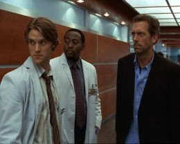 Dr. House and 2 colleagues.