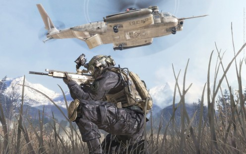 Imagine how great Call of Duty: Modern Warfare 2 would look on a giant HD TV