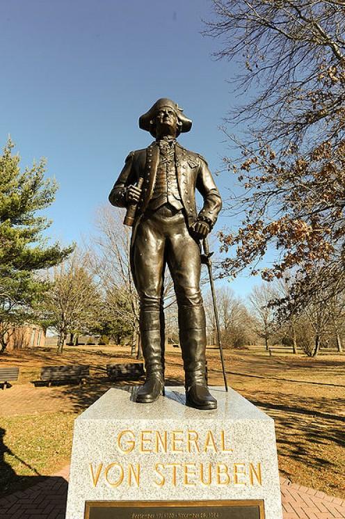 General Von Steuben Memorial Monmouth Battlefield Park
