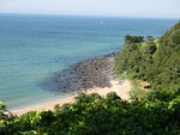 beautiful waters of Jeju