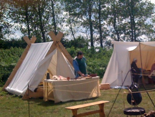 The Camp's infirmary manned by Rodstaff.