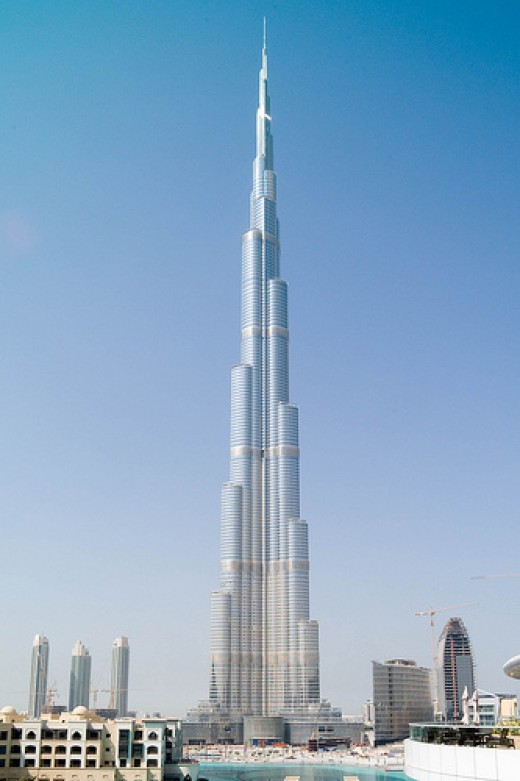 Burj Khalifa, a land mark for Dubai, for years to come.