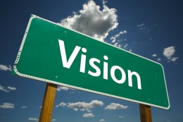 Organizational Change Begins with a Vision.