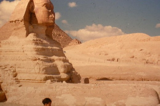 The Egyptian Sphinx.
