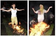 barefoot firewalkers