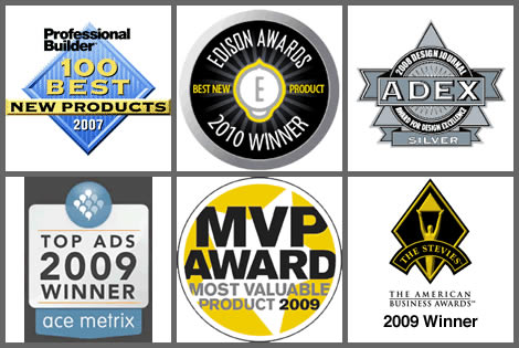Just some of the many awards Delta Kitchen Faucets have won