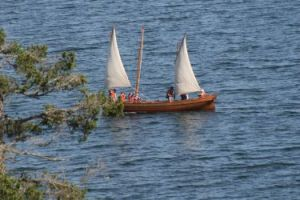 Go for a day sail on the Sooke Basin.