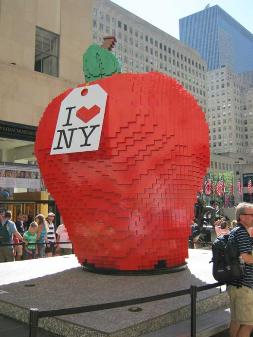 Big Lego apple
