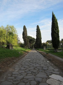 The Appian Way. Photo by Phil Wiffen (flickr)