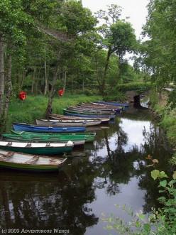 Boats in Killarney National Park. Adventurous Wench.