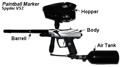 Paintball Marker Spider VS2
