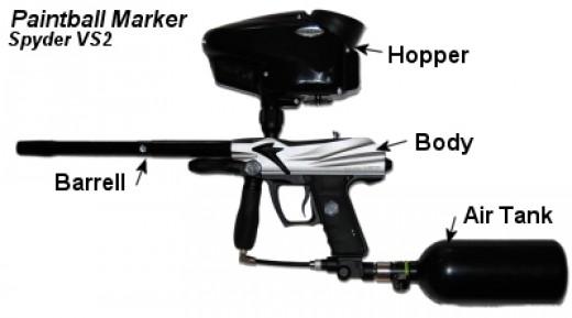 Paintball Marker Spider VS2