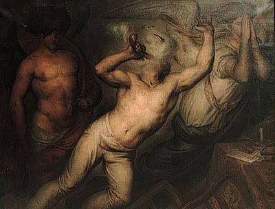 """The Suicide,"" by Wiertz in 1864"