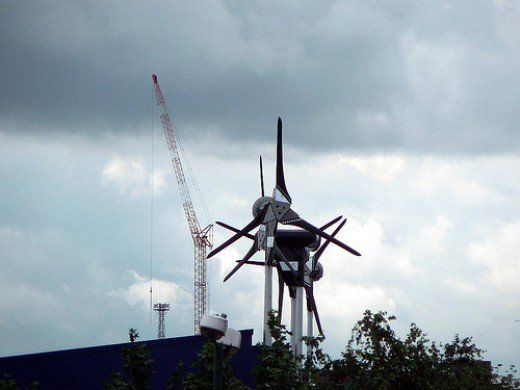 Installing wind turbines, can also add to some additional free and green source of energy.