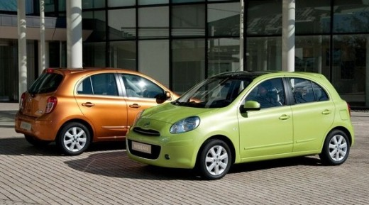 Nissan Micra - Front and Rear