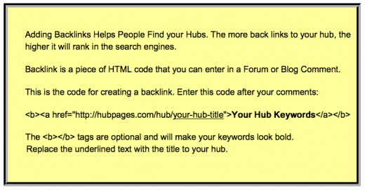 More traffic to your Hubs will generate more Adsense clicks and higher earnings!