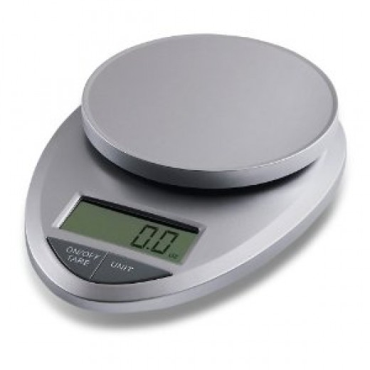 EatSmart Precision Pro - Multifunction Digital Kitchen Scale w/ Extra Large LCD and 11 Lb. Capacity