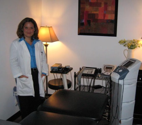 Dr. Schnee at Her Office in Irving, Tx