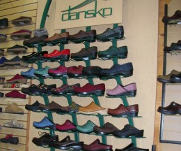 Try not to overdose on the complete assortment of clogs at this Dansko outlet!