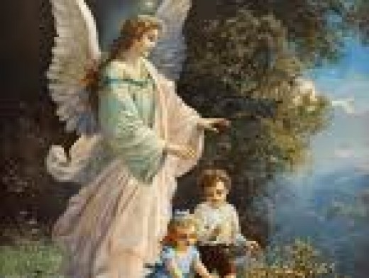 God sends His angels to be with us always