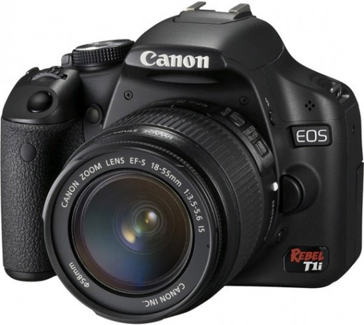 Canon T1i Digital SLR Camera