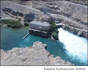 Kajakai Hyrdoelectric Facility