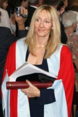 J. K. Rowling Photo: Steven Hill