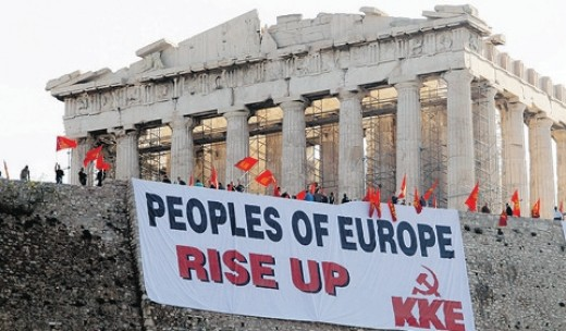 Is communism really dead? We were told so, but since 2008, it has been making a comeback, like this call in Greece after austerity measures were announced.