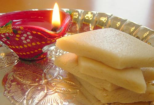 Kaju Katli, traditional Indian dessert
