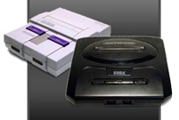 The 90s were so full of gaming advancements that I could find no one picture to represent it all.  I chose this picture because the SNES vs Genesis debate was one of the most heated of 90s gaming.