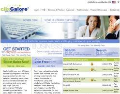 clixGalore screenshot