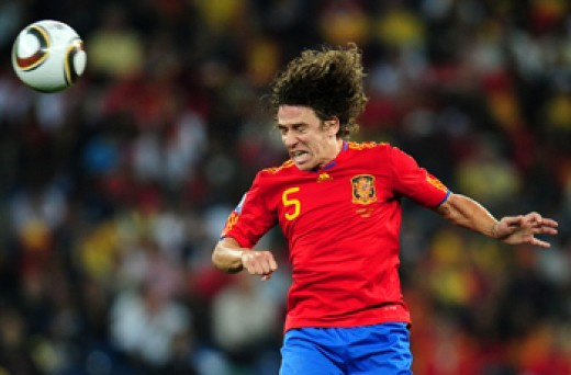 7 Jul 2010 WC 2010: Spain - Germany, Puyol (Getty Images)