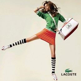 Lacoste shows us that preppy sports wear can also be fun!