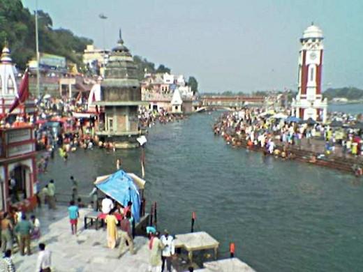 Haridwar - Har-Ki-Pauri - I Ghats(River banks)