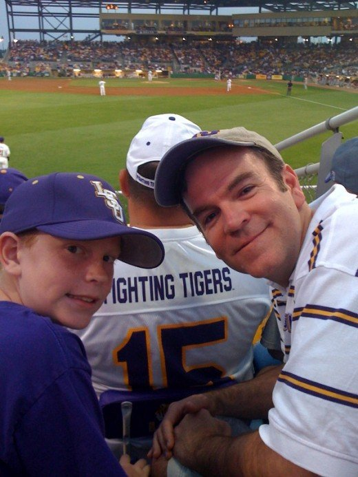 LSU baseball is a great family fun atmosphere.