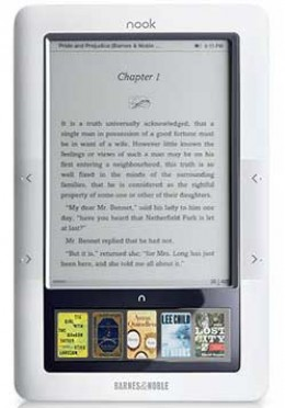 Barnes and Noble had made major improvements to their ebook reader since it first appeared on the market.