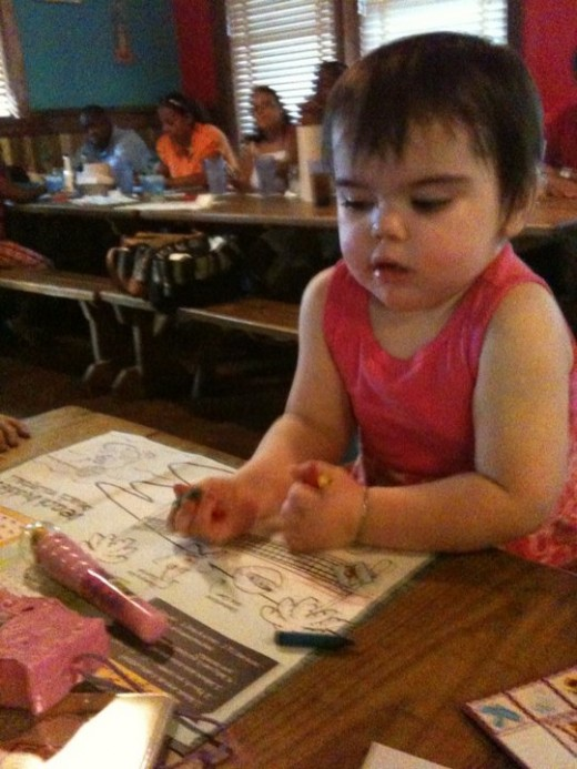I can color!