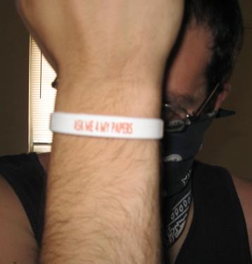 Bracelet from Democracia Ahora