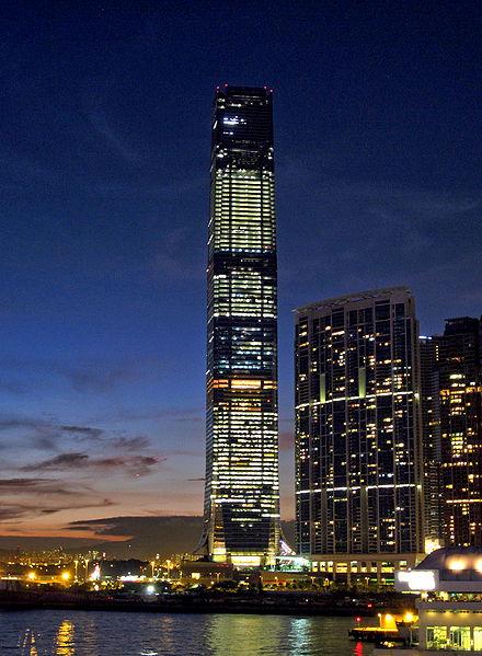 International Commerce Centre, Hong Kong.