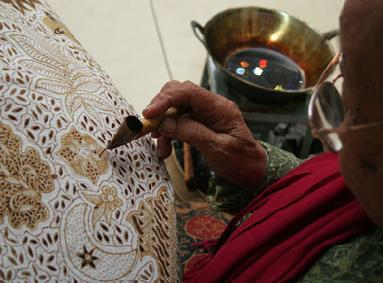 How to make  Batik