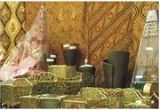 Inside Kauman Batik Museum