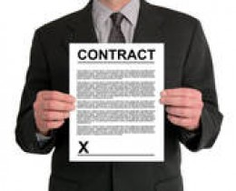 Read every bit of your wedding vendor/venue contracts before signing on that dotted line!
