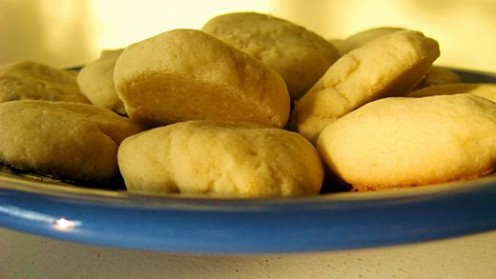 Lemon zest and lavender drop cookies / Photo by E. A. Wright