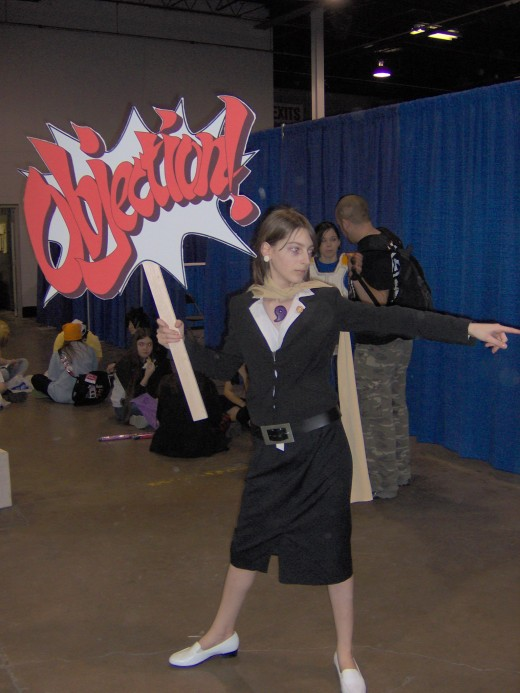 Girl Phoenix Wright - So cool