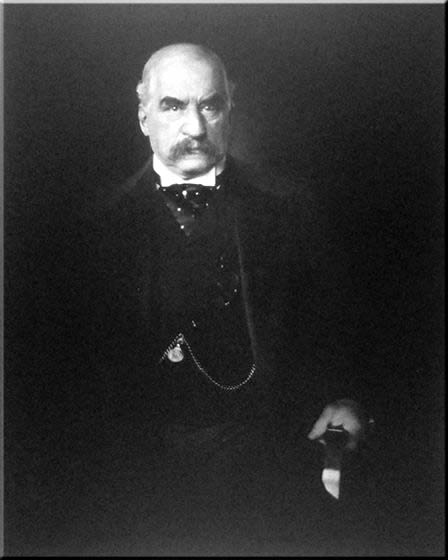 J P Morgan was a railway and power tycoon who financed Nikola Tesla and ultimately ended Tesla's influence.