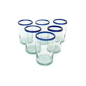 Drinking glasses, 'Classic' (set of 6)